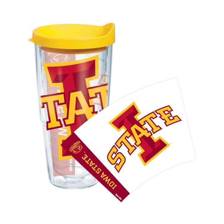 Iowa State 16oz Colossal Wrap With Yellow Lid