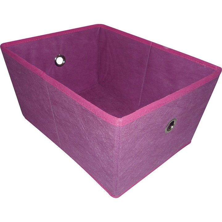05000949p Storage Bin With Holes, 16 X 12 X 8 In, Purple
