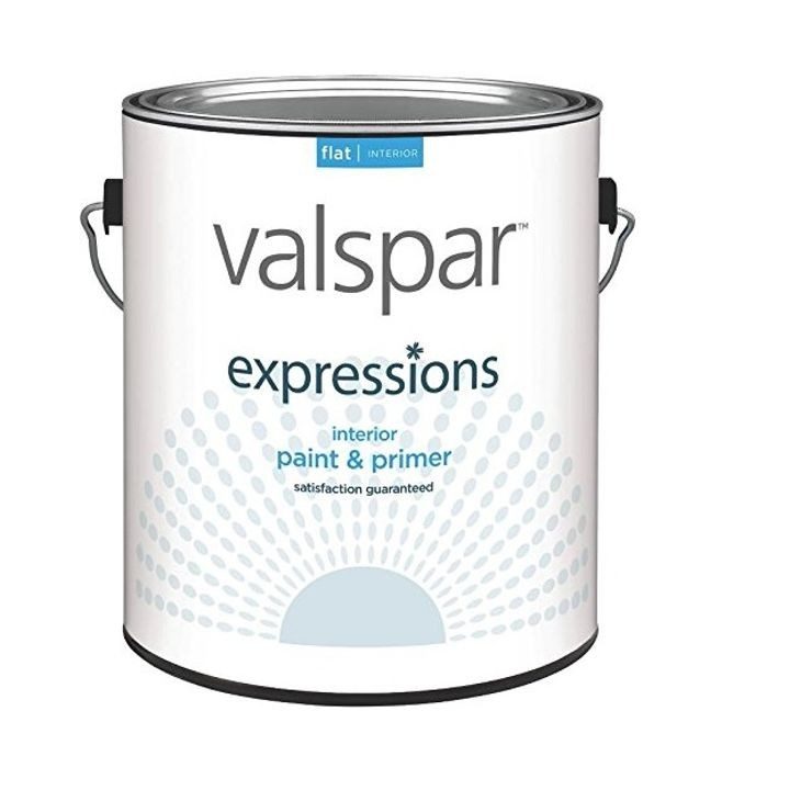 Expressions Interior Flat White Paint 1 Gallon