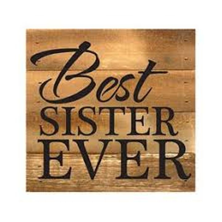 """Best Sister Ever"" Boxed Art"