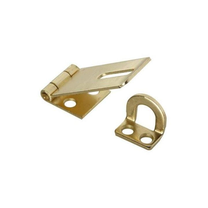 1 3/4 Inches  Brass Saftey Hasp