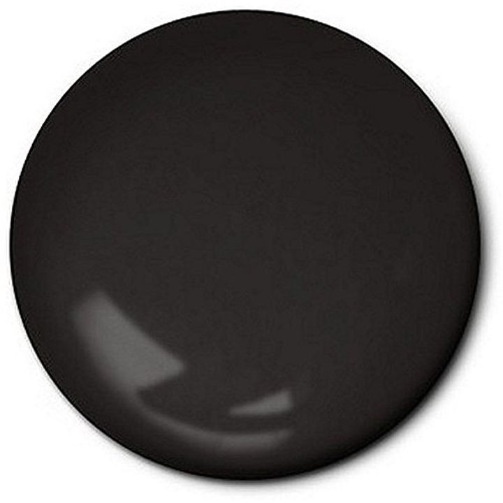 .25 oz Enamel Flat Black Hobby Paint