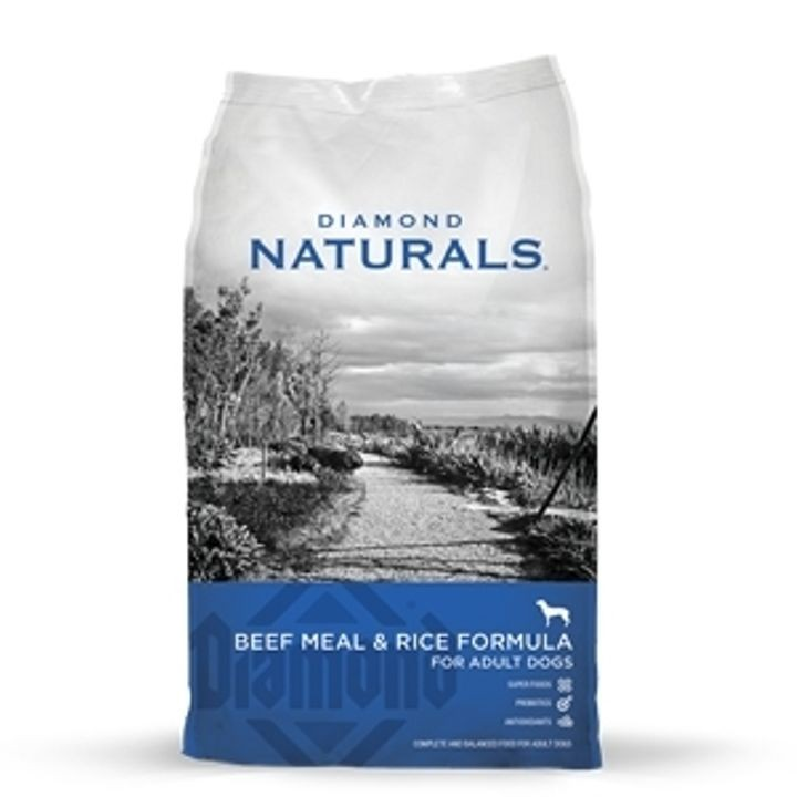 Naturals Beef Meal & Rice Formula For Adult Dogs