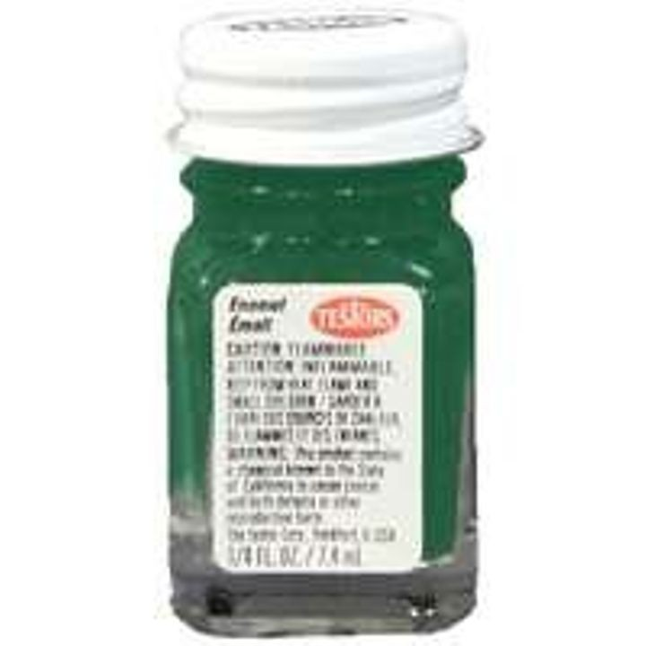 Gloss Enamel Hobby Paint, Green - 1/4 oz