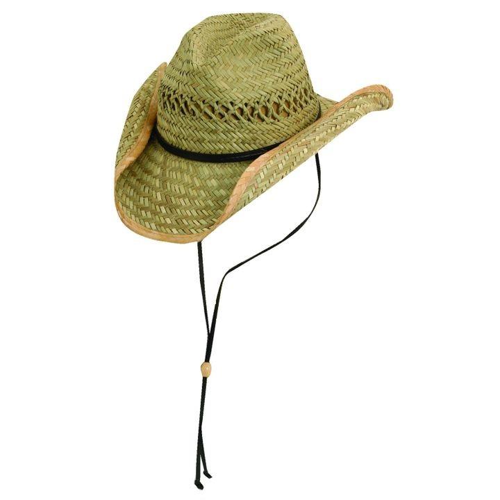 cfd9684442c54 Men s Scala Western Straw Cattleman Hat