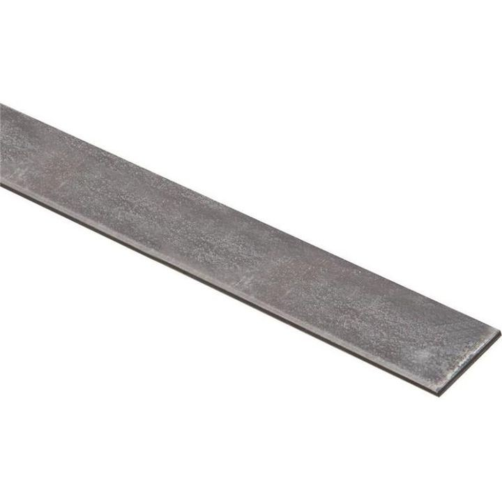 1-1/4 X 72 Inch Plated Steel Flat Bar