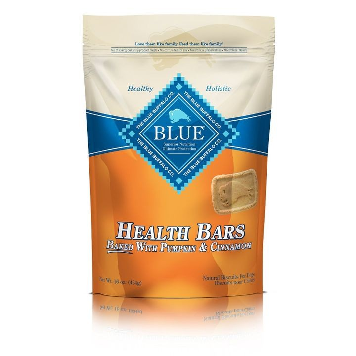 BLUE Health Bars Pumpkin & Cinnamon Dog Treats