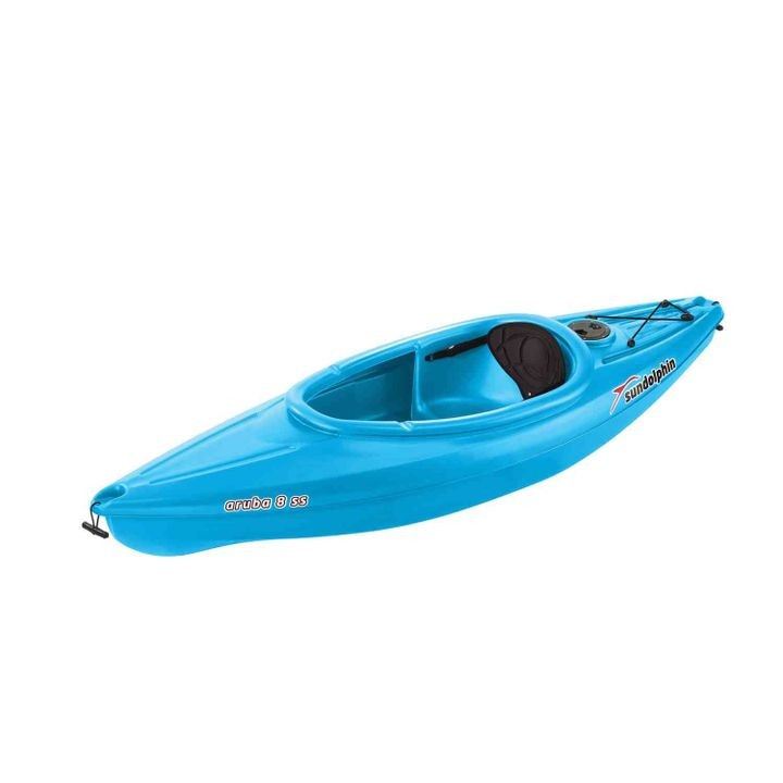 Aruba 8' SS Sit-In Kayak w/ Paddle