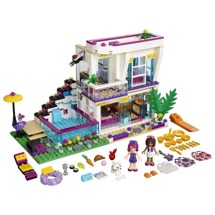 Friends Livi's Pop Star House