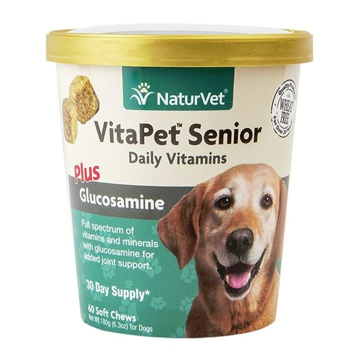VitaPet Senior Daily Vitamins Plus Glucosamine Soft Chews