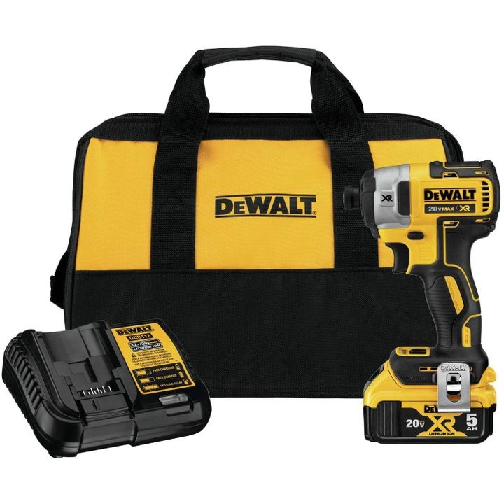 20V MAX XR 1/4 Inch 3-Speed Impact Driver kit
