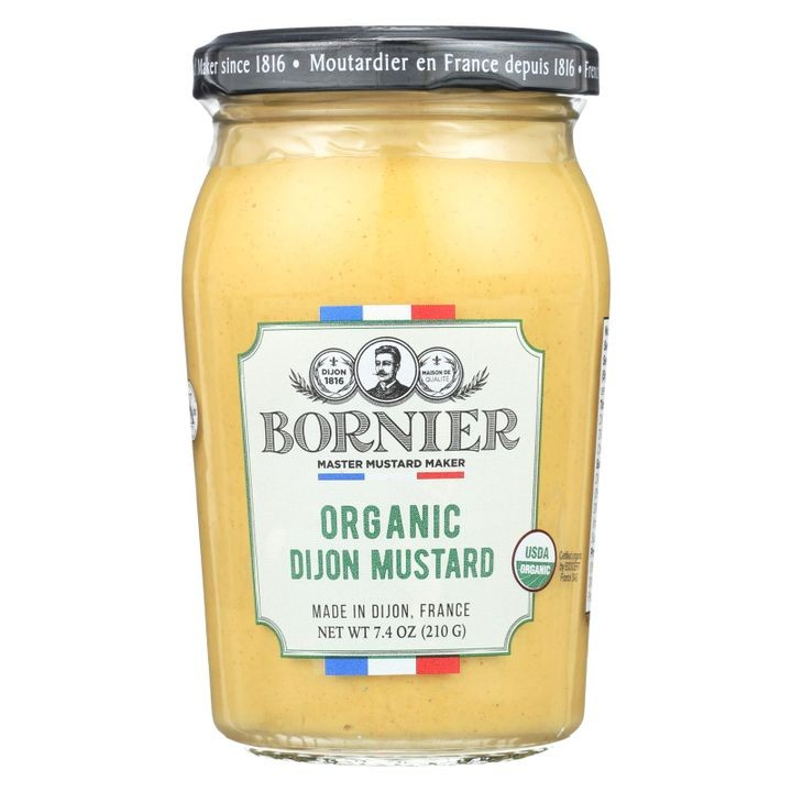 - Mustard - Organic Dijon - Case Of 6 - 7.4 Oz