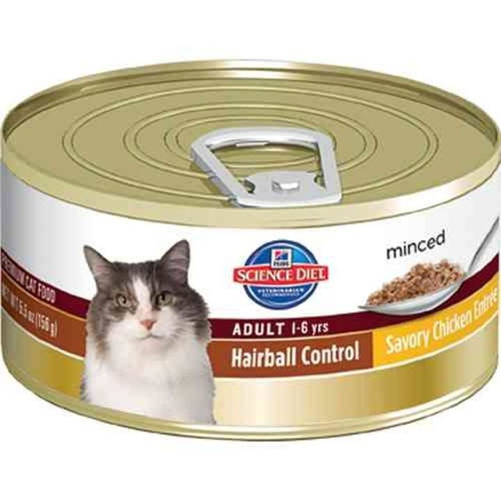 Adult Hairball Control Canned Cat Food