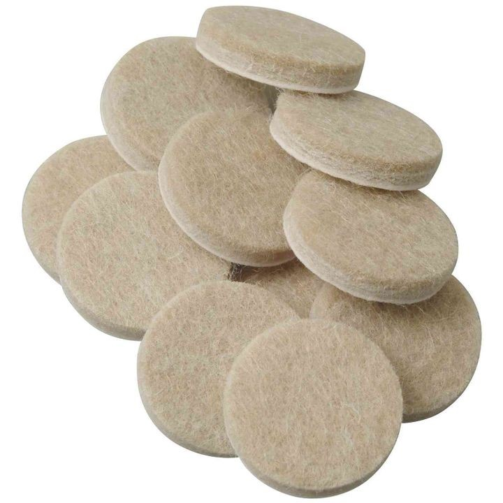 Self-Stick Round Felt Pads