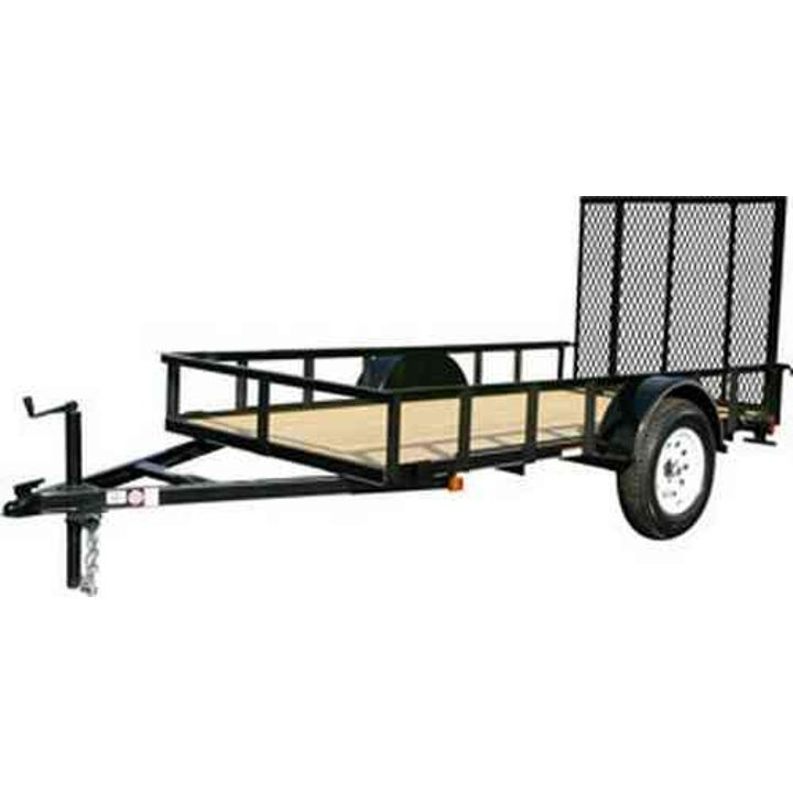 10' Landscape Trailer With Gate