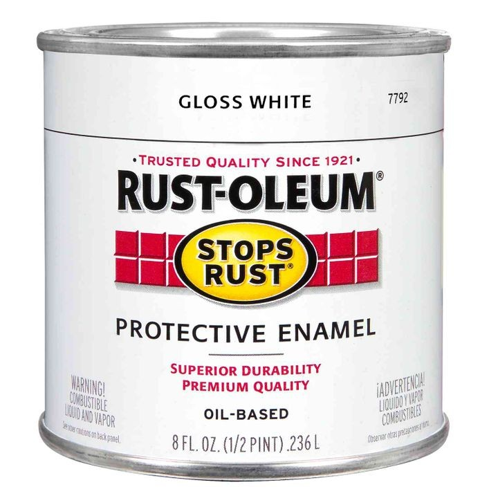"""Stops Rust"" Protective Enamel Paint"