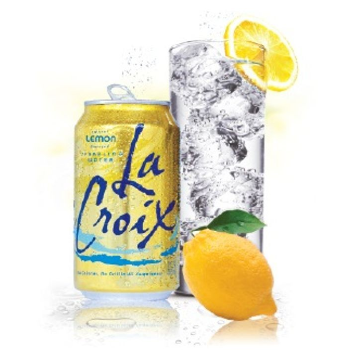 Lemon Flavored Sparkling Water 12 Pack of Cans