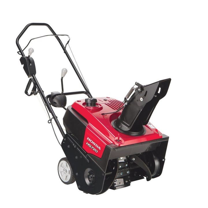 "20"" Single-Stage Gas Snow Blower with Snow Director Chute Control"