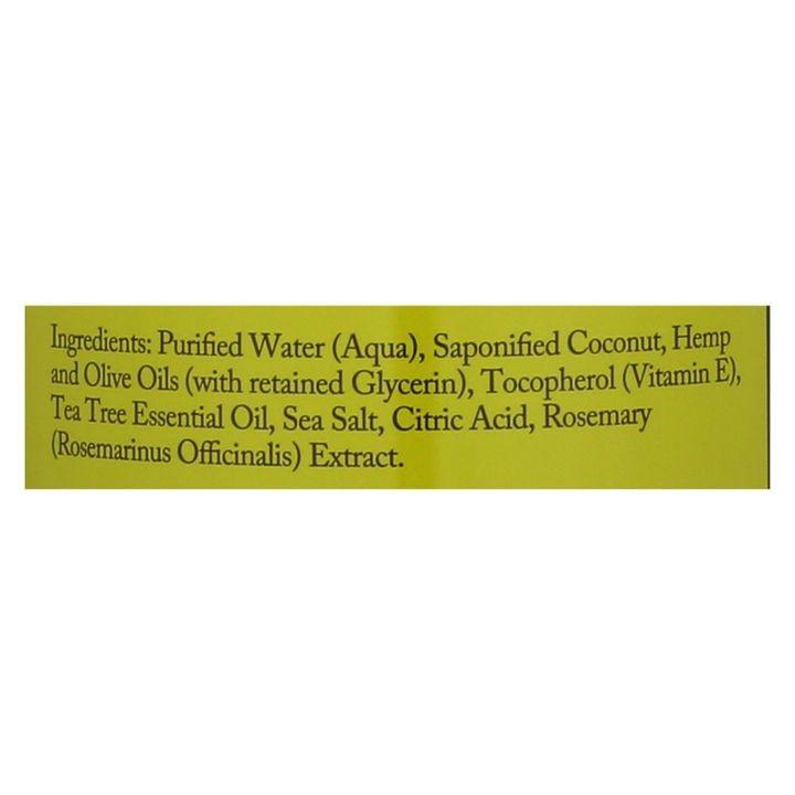 Dr  Woods Pure Castile Soap Tea Tree 32 Fl Oz