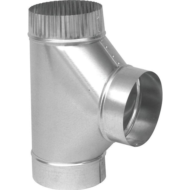 Gv0892 Easy Flow Stove Pipe Tee 6 In