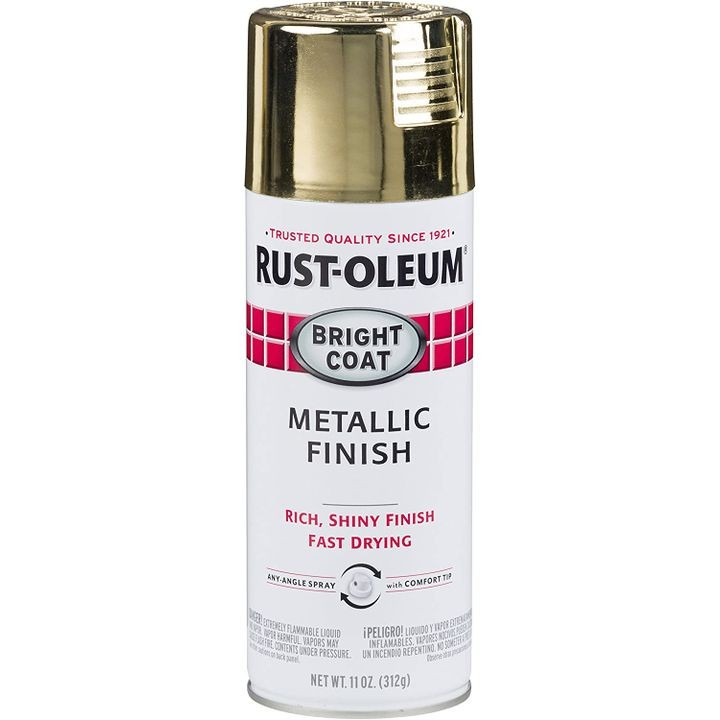 11 Oz Stops Rust Bright Gold Coat Spray Paint