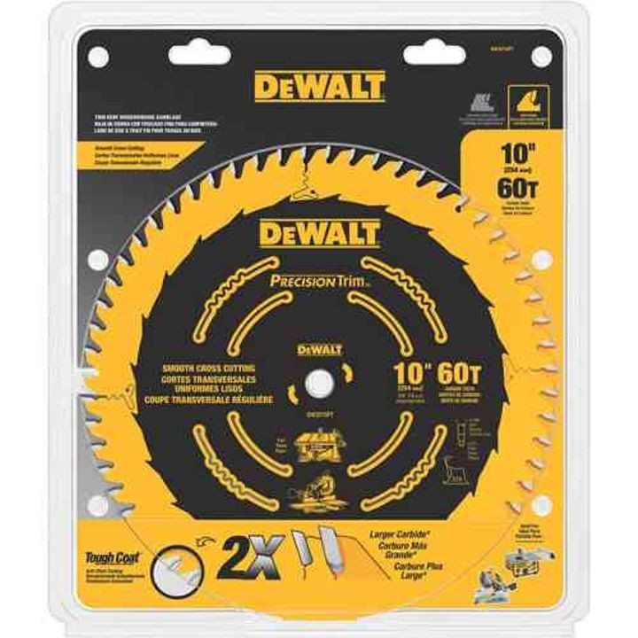 "10"" ATB Crosscutting Saw Blade"