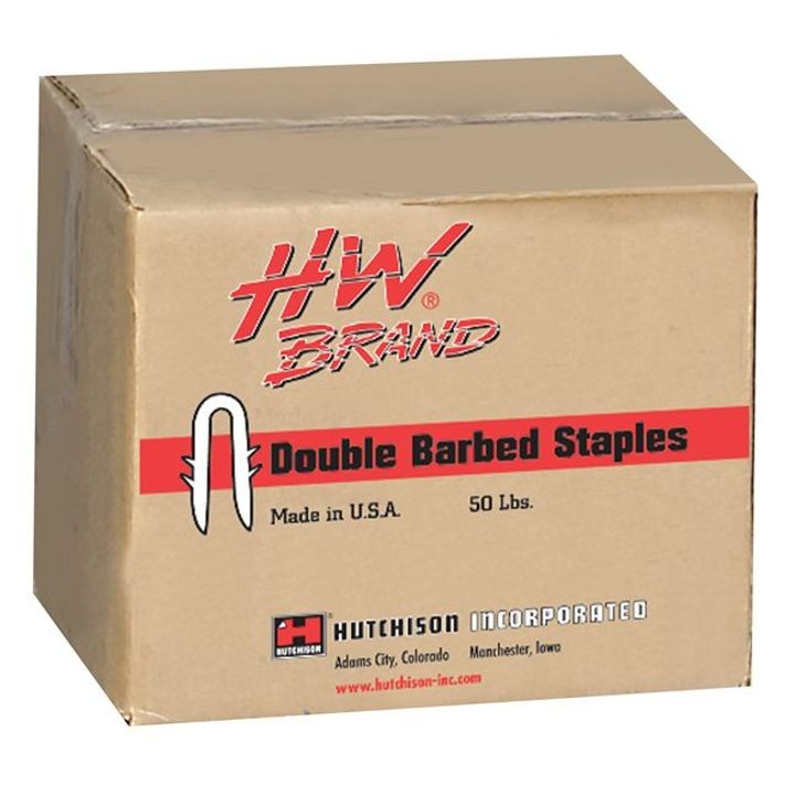 "2"" HW Brand Double Barbed Staple"