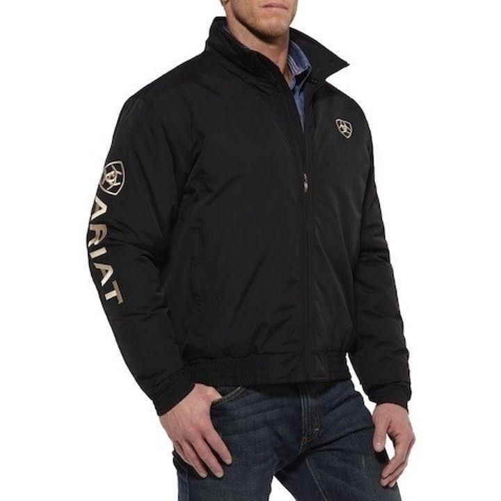 6f5046b9dc ... Men s Poly Insulated Logo Team Jacket