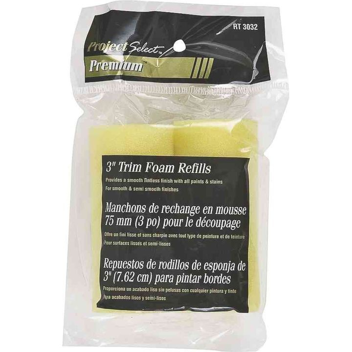 Project Select Premium Foam Trim Refill Twin Pack