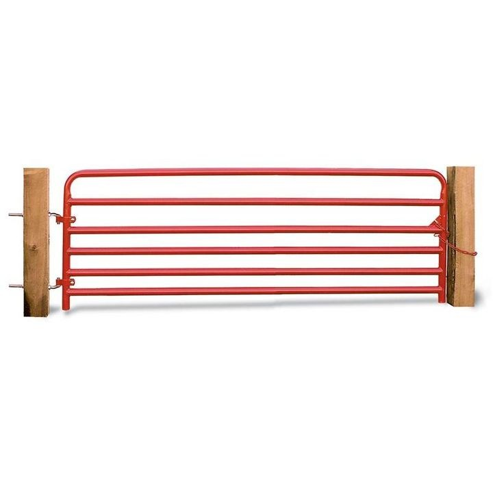 "1 3/4"" Red Pipe Hog Gate"