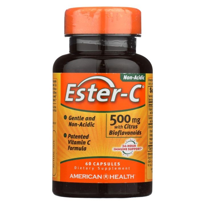 - Ester-c With Citrus Bioflavonoids - 500 Mg - 60 Capsules