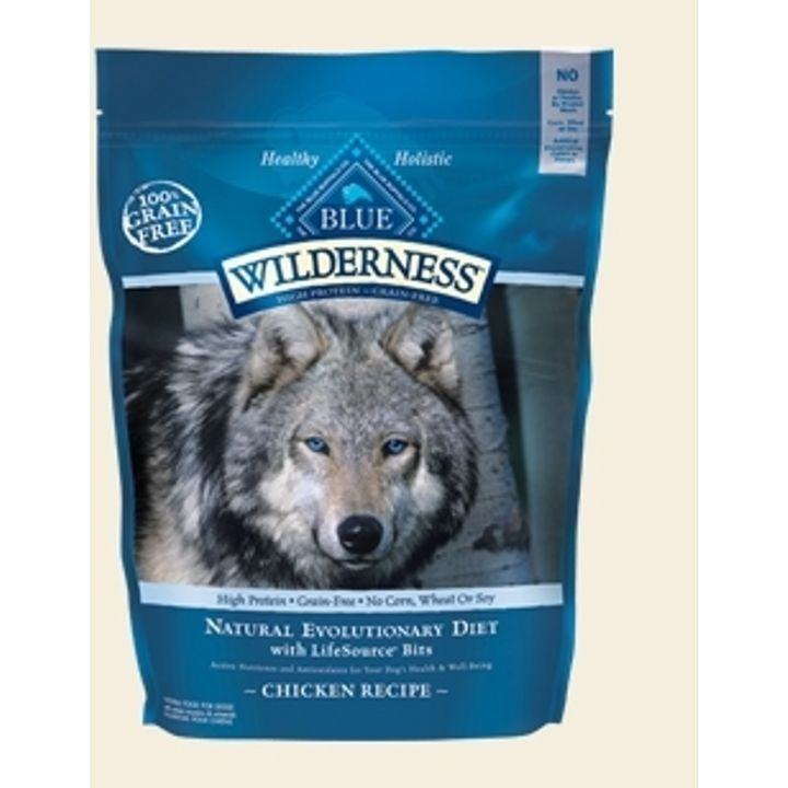 Wilderness Adult Large Breed Chicken & Brown Rice Dry Dog Food