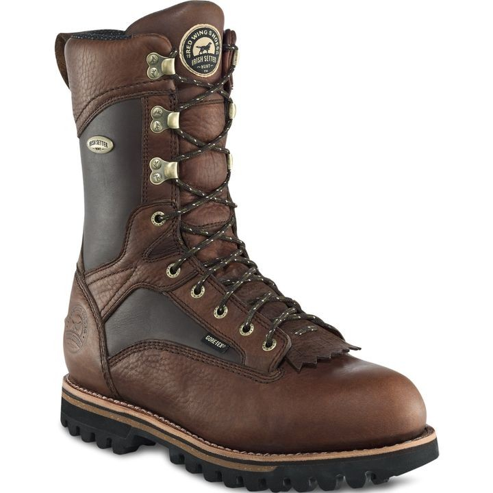 "Men's 12"" Elk Tracker Leather Hunting Boot"