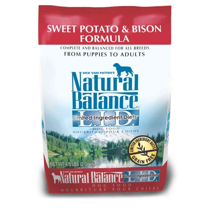 Limited Ingredient Diets Sweet Potato and Bison Formula Dry Dog Food