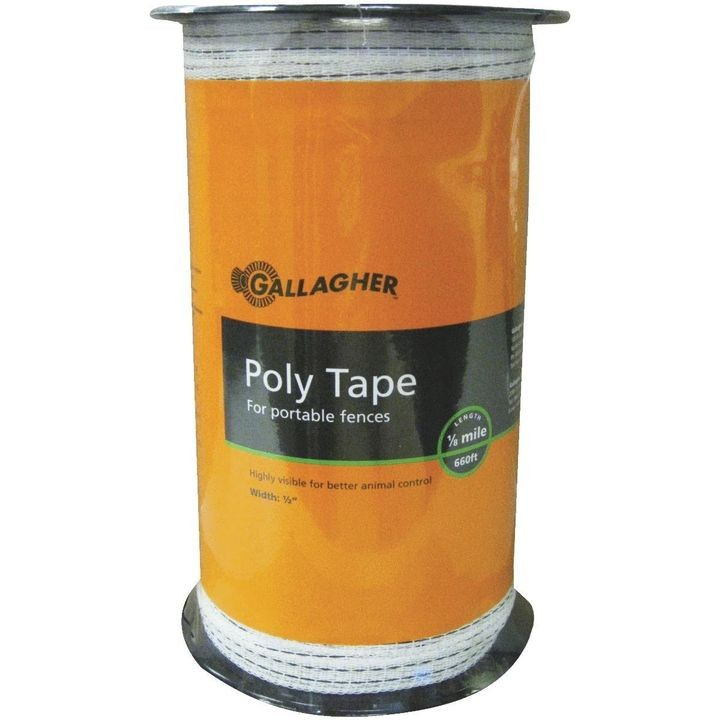 "1/2"" Electric Fence Poly Tape"