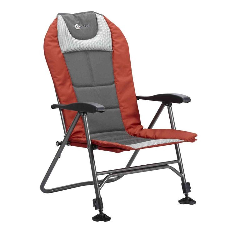 Folding Chair With Adjustable Legs