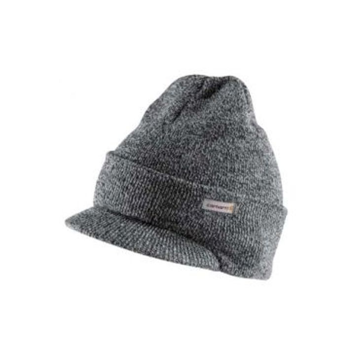 Mens Knit Hat with Visor Hat  95b82aa1604