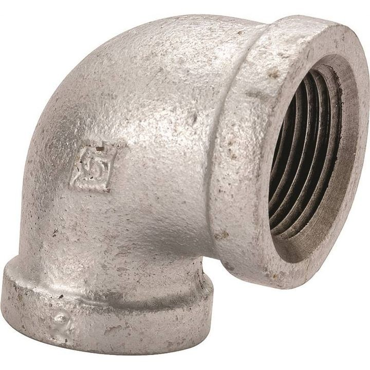 "1/4"" 90 Degree Malleable Iron Threaded Pipe Elbow"