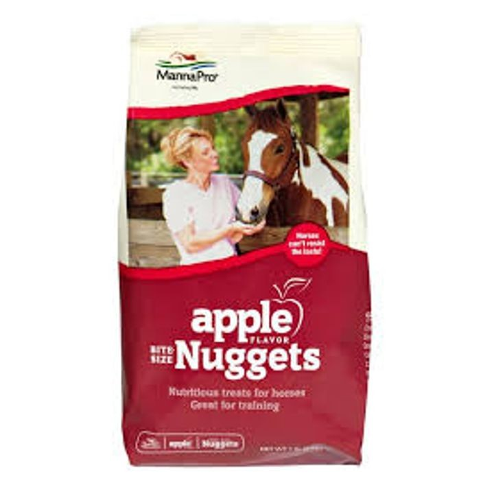1 Pounds Apple Flv Nuggets Horse Treat