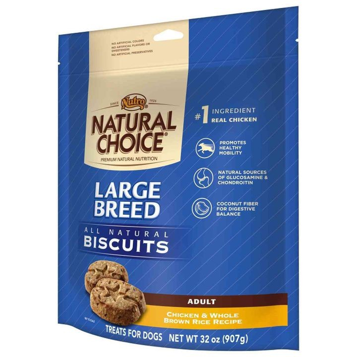 Natural Choice Large Breed Adult Dog Biscuits