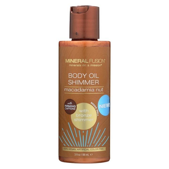 - Body Oil Shimmer - Bronze - 3 Fl Oz.