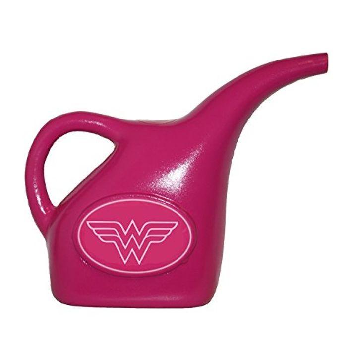 Kids Wonder Woman Plastic Garden Watering Can