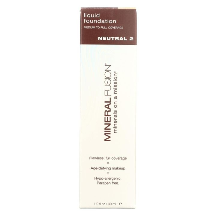 - Liquid Mineral Foundation - Neutral 2 - 1 Oz.