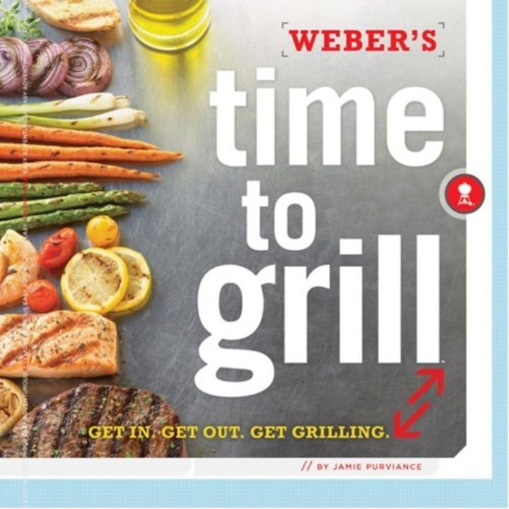 """Time to Grill"" Cookbook"