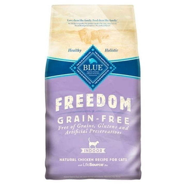Blue Freedom Grain Free Chicken Indoor Kitten Food