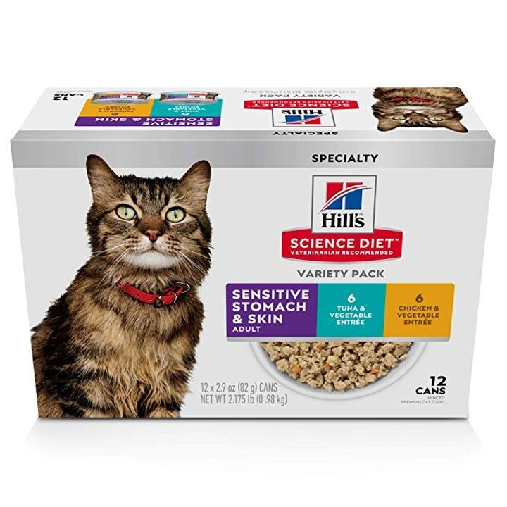 Canned Sensitive Stomach & Skin Wet Cat Food   Theisen's ...