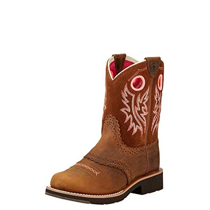 Little Girls Fatbaby Cowgirl Western Boot Theisen S
