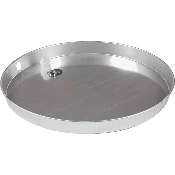 Aluminum Water Heater Drain Pan With Pvc Fitting Theisen