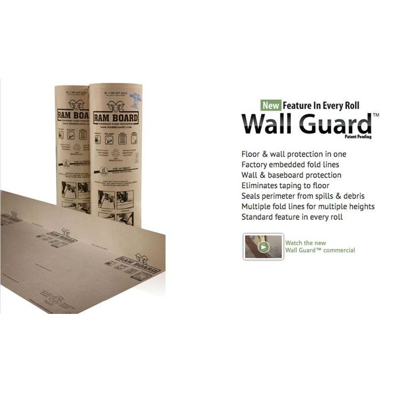 """Temporary Floor Protection 38""""x100' Roll"""